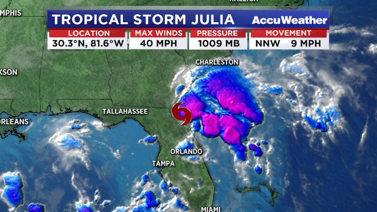 Tropical Storm Julia