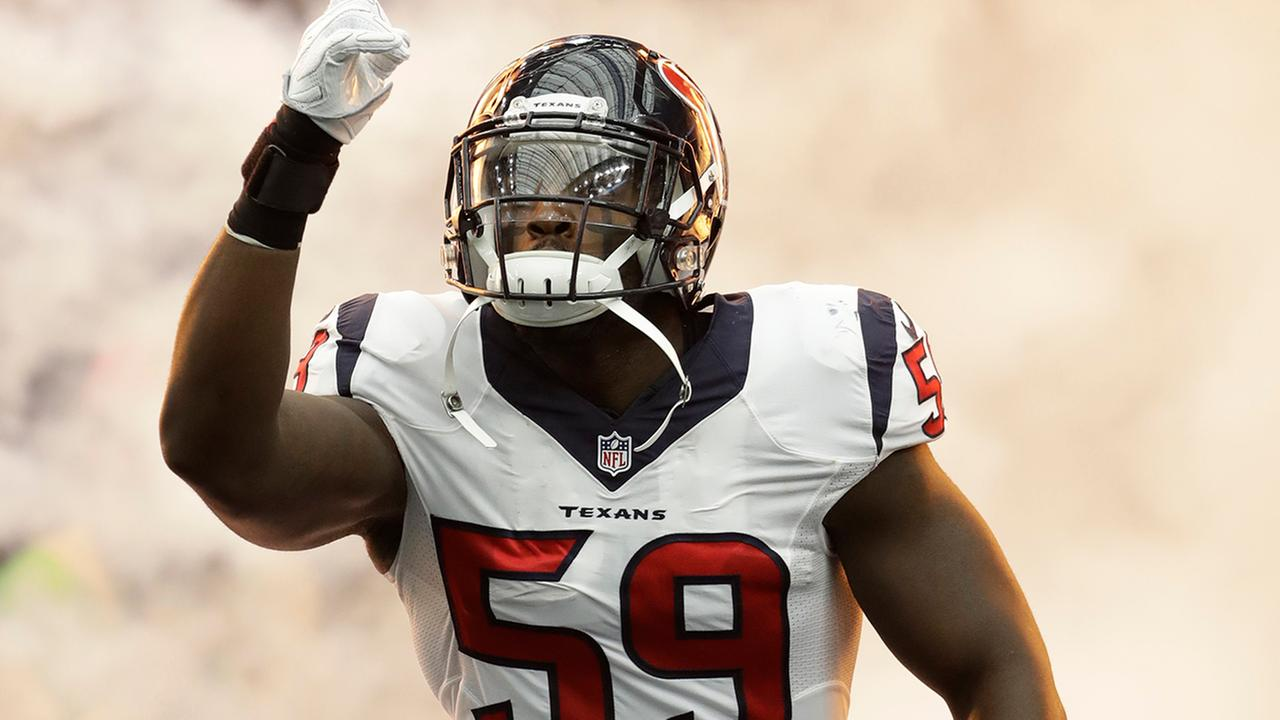 Texans OLB Whitney Mercilus named AFC Defensive Player of the Week