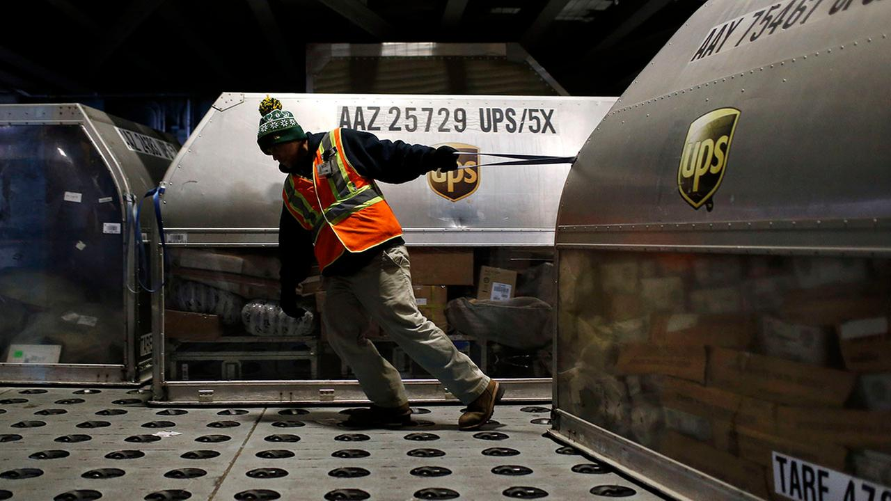UPS Holiday Hiring