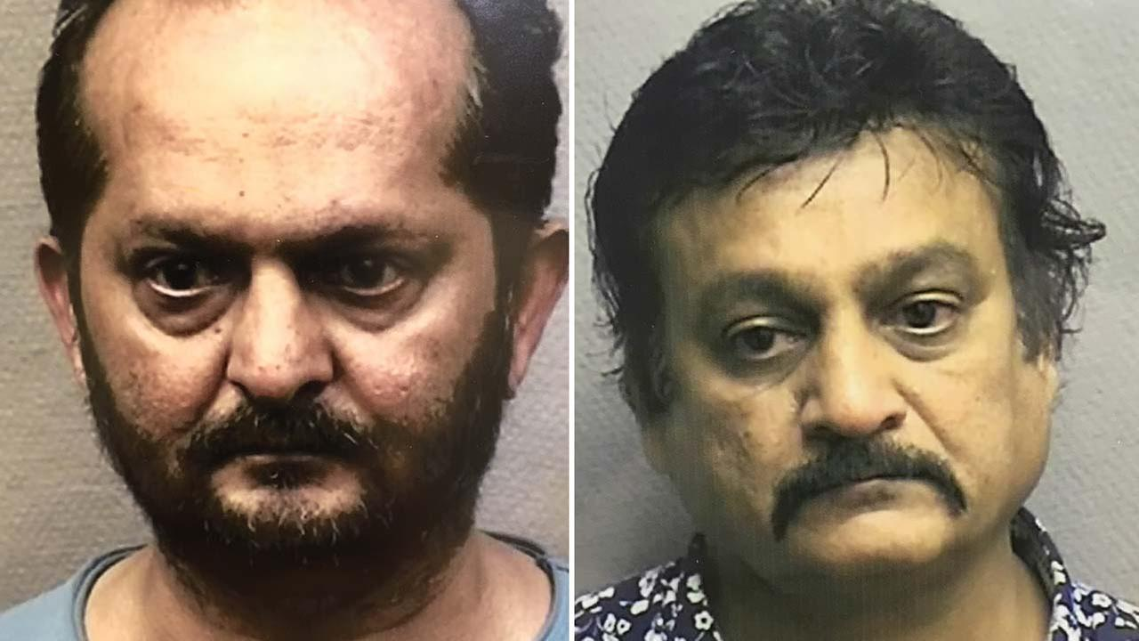 Rafeeq Panjvany and Naushad Pradhan