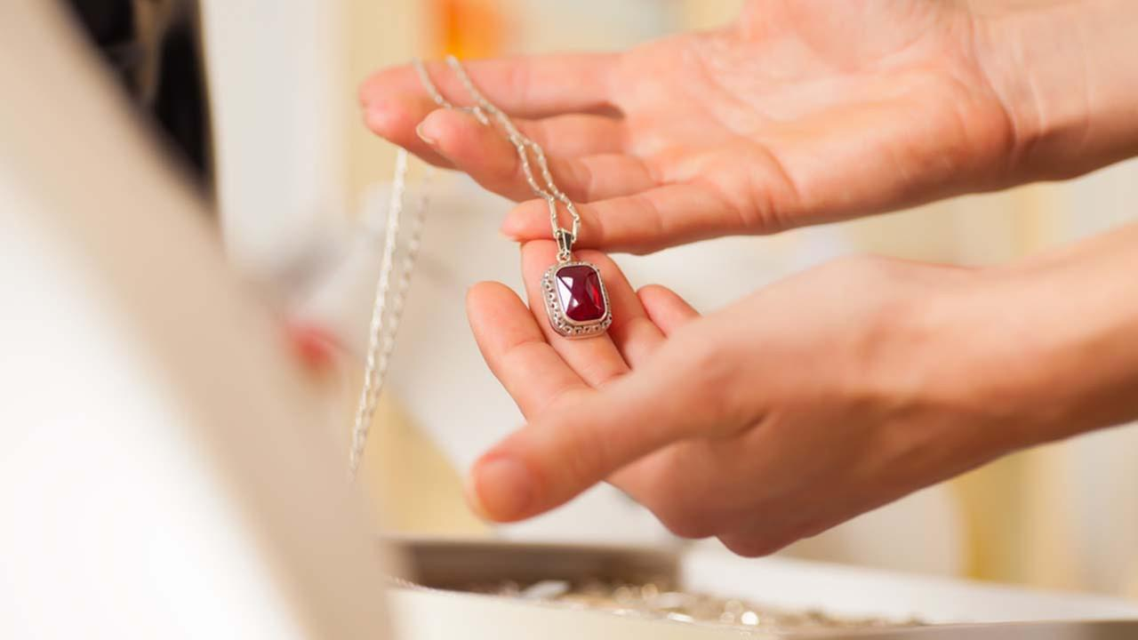 A stock image of jewelry