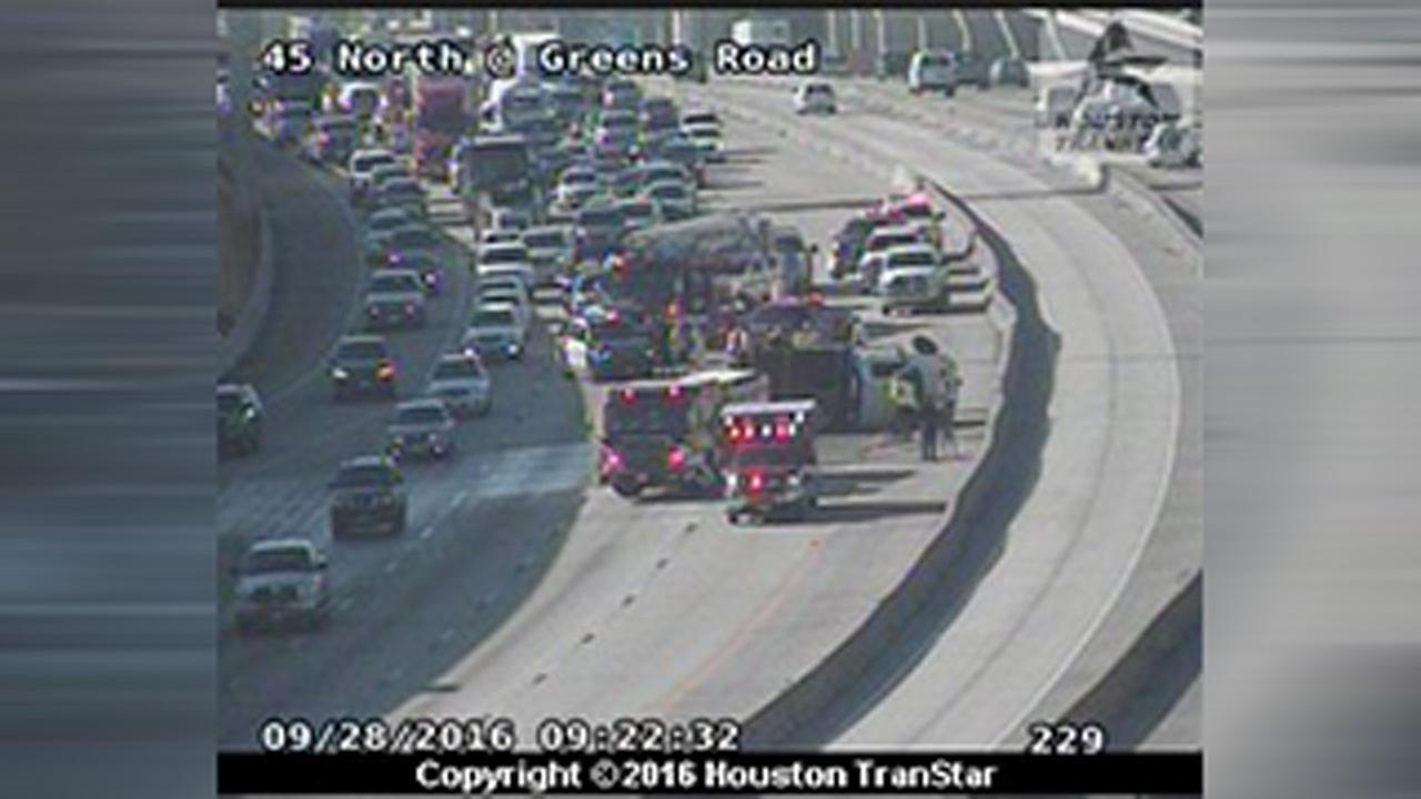 North Frwy accident