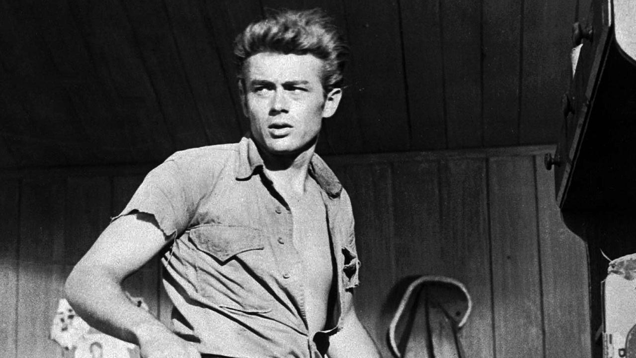 James Dean, shown in this 1955 photo, died in a car crash on September 30, 1955.