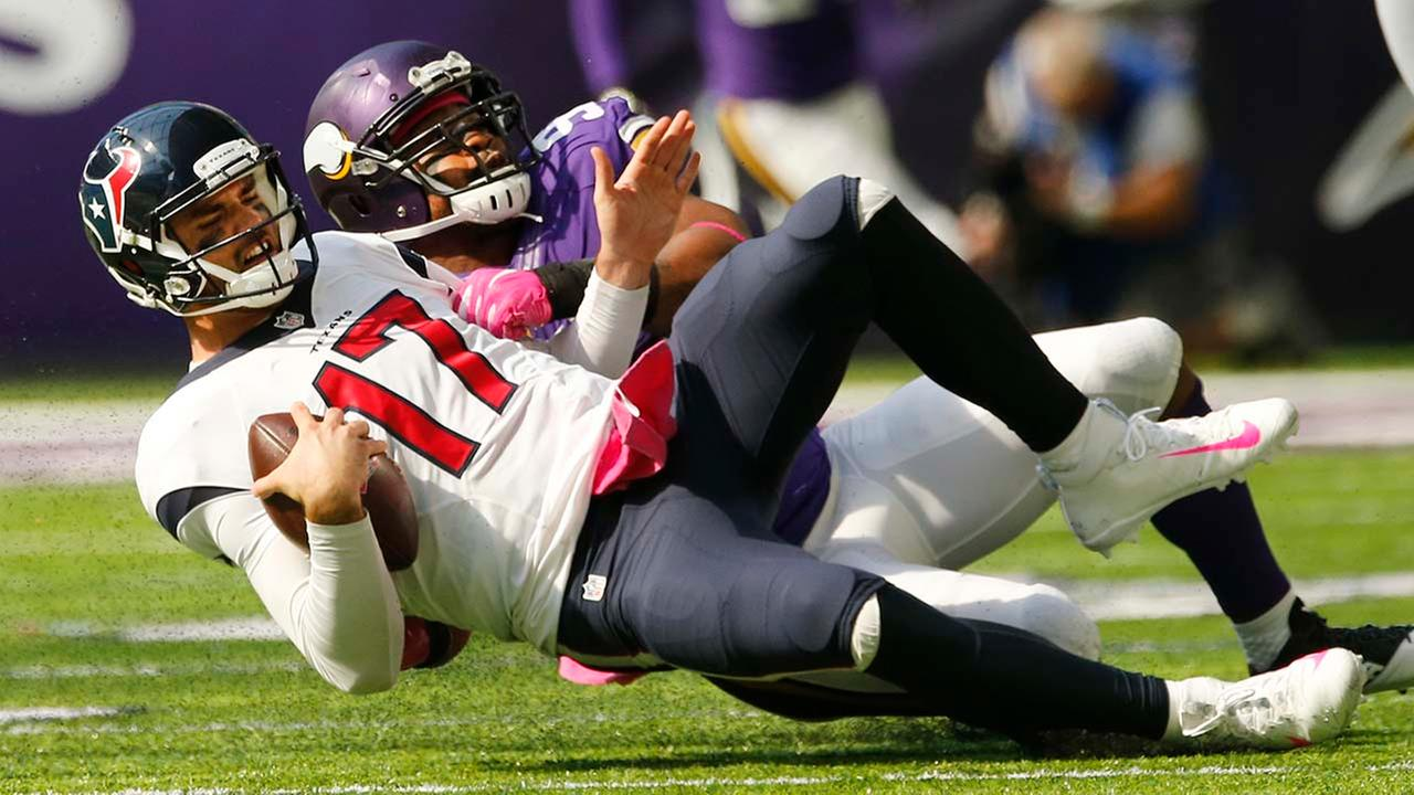 TEXANS VIKINGS FOOTBALL