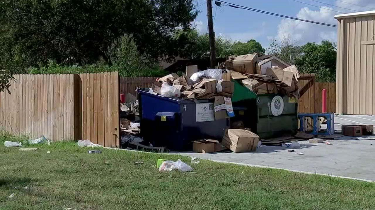 Overflowing trash creating problem in Third Ward