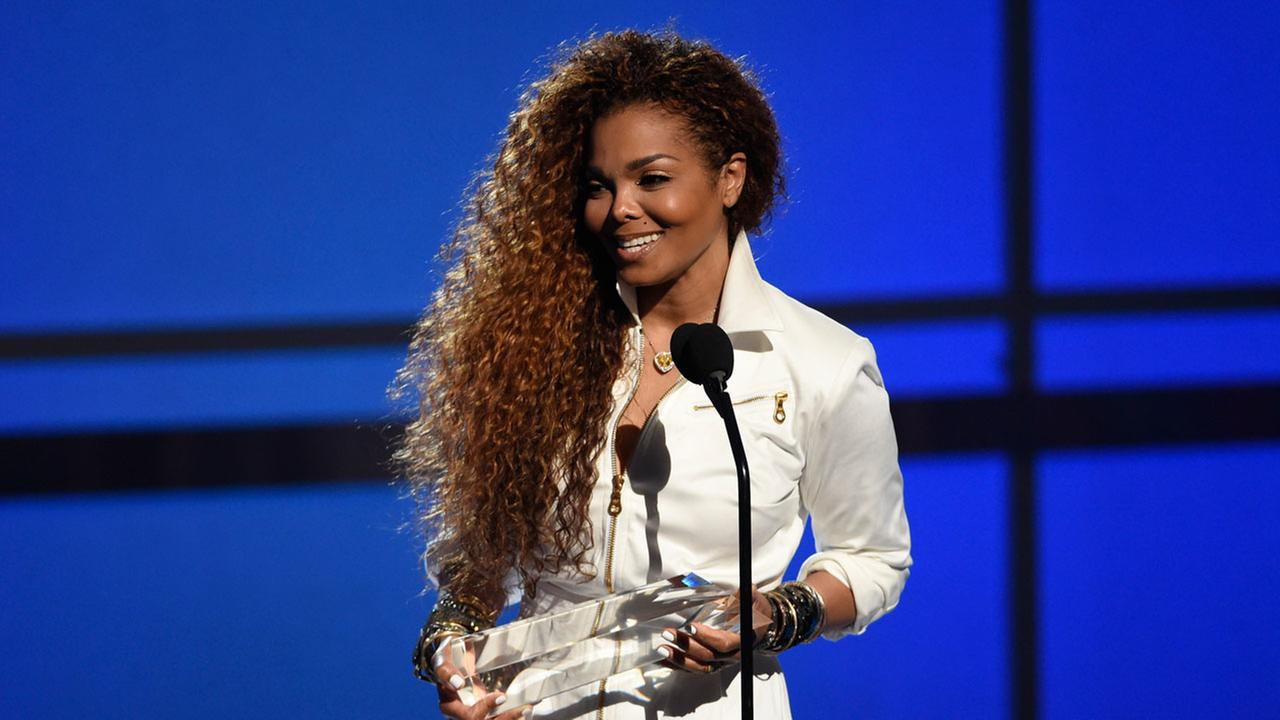 Janet Jackson accepts the ultimate icon: music dance visual award at the BET Awards at the Microsoft Theater on Sunday, June 28, 2015, in Los Angeles.