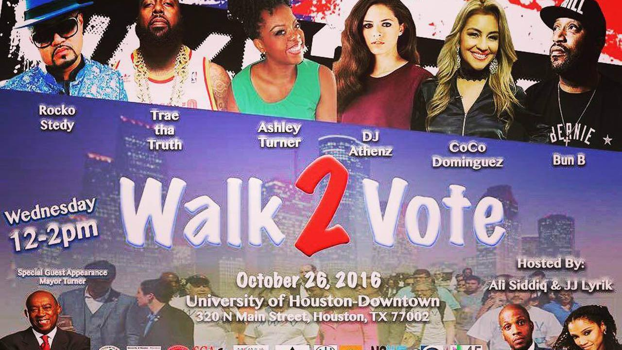 Houston's 'Walk 2 Vote' kickoff event held