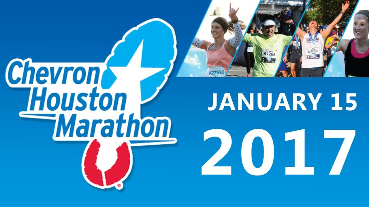 Thousands run in the 2017 Chevron Houston Marathon