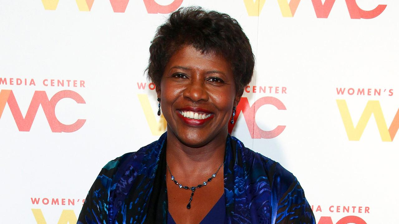 NewsHour co-anchor Gwen Ifill attends The Womens Media Center 2015 Womens Media Awards in New York.