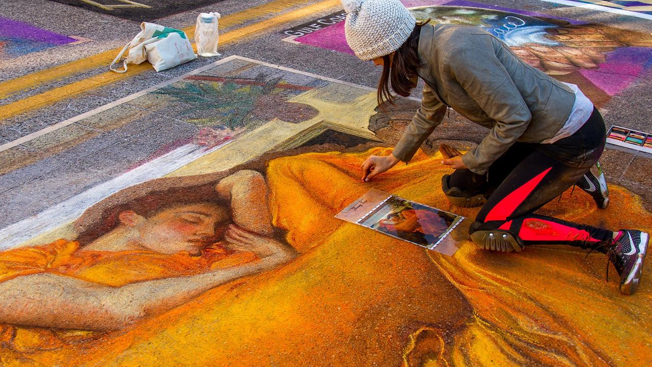 Via Colori: Painting Houston streets for a good cause