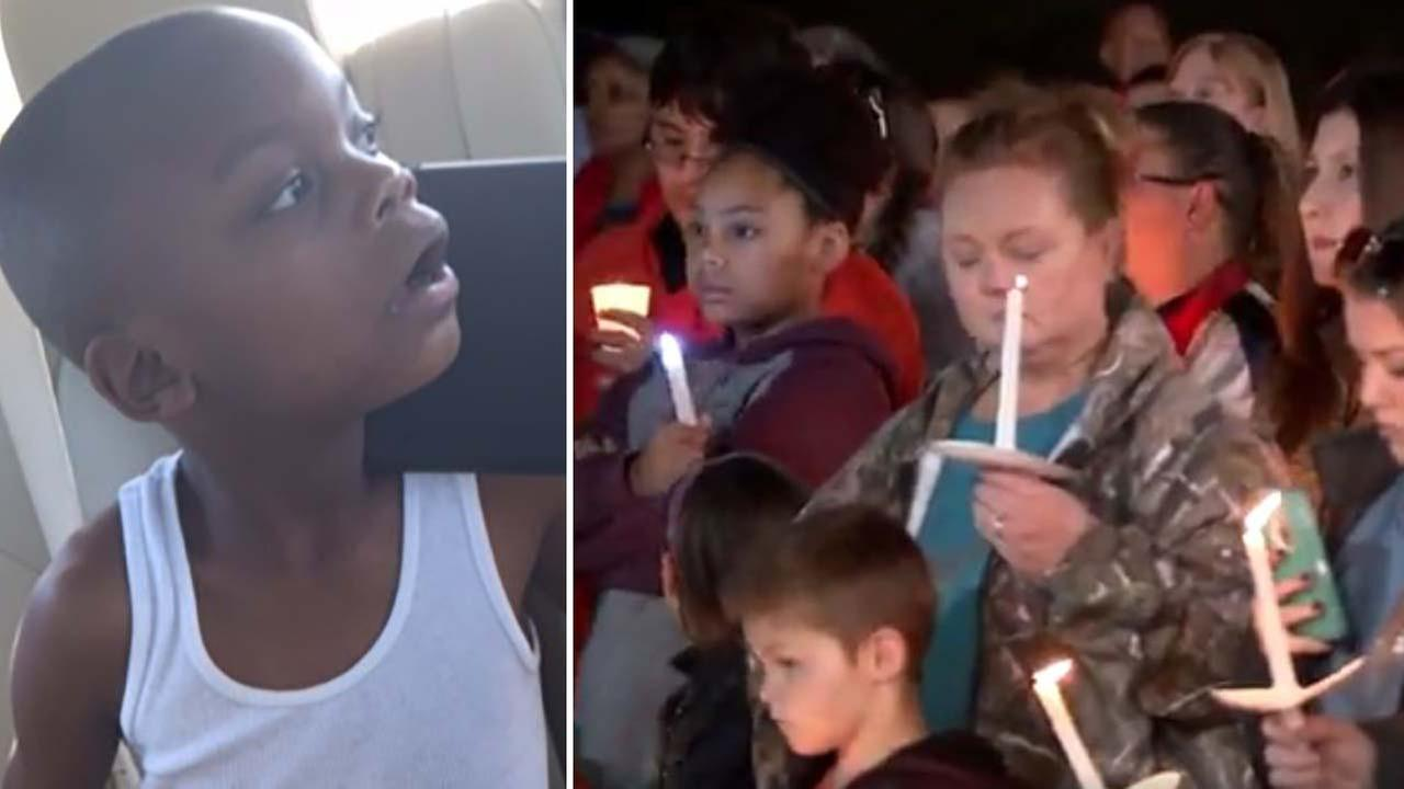 Mourners gather to remember boy found dead in Pearland