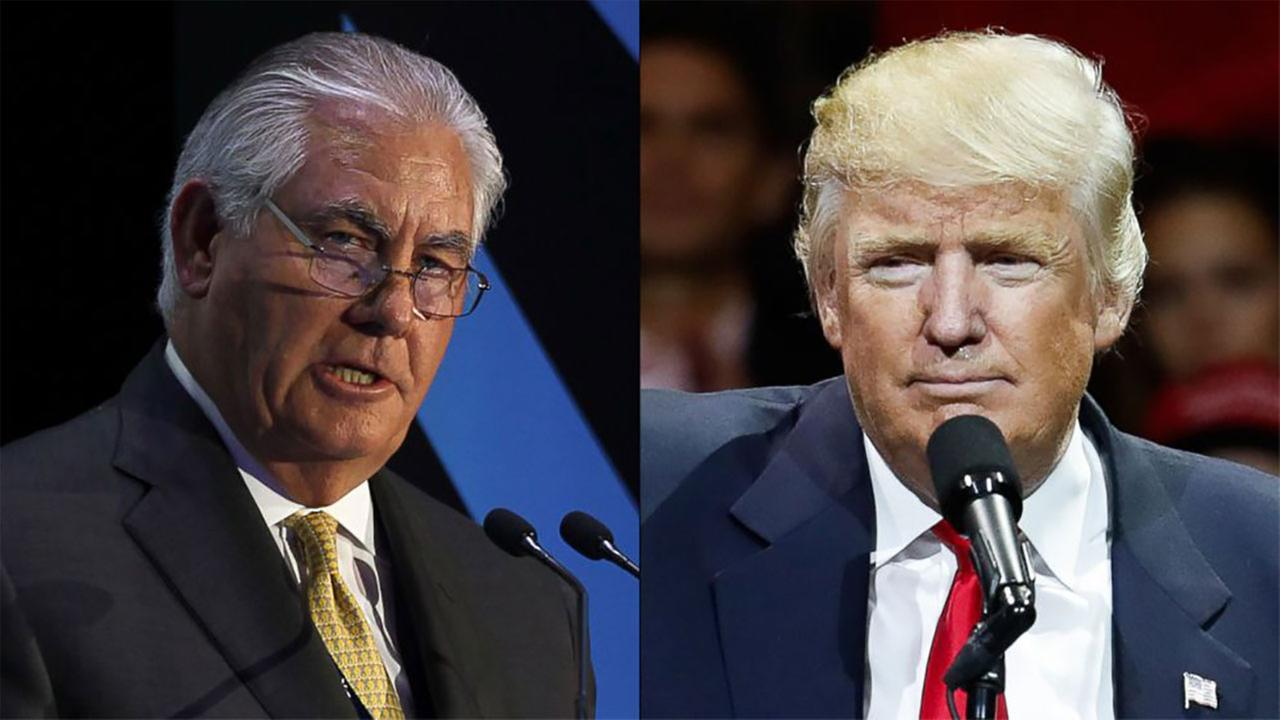 Senate confirms Rex Tillerson to be President Trump's secretary of state