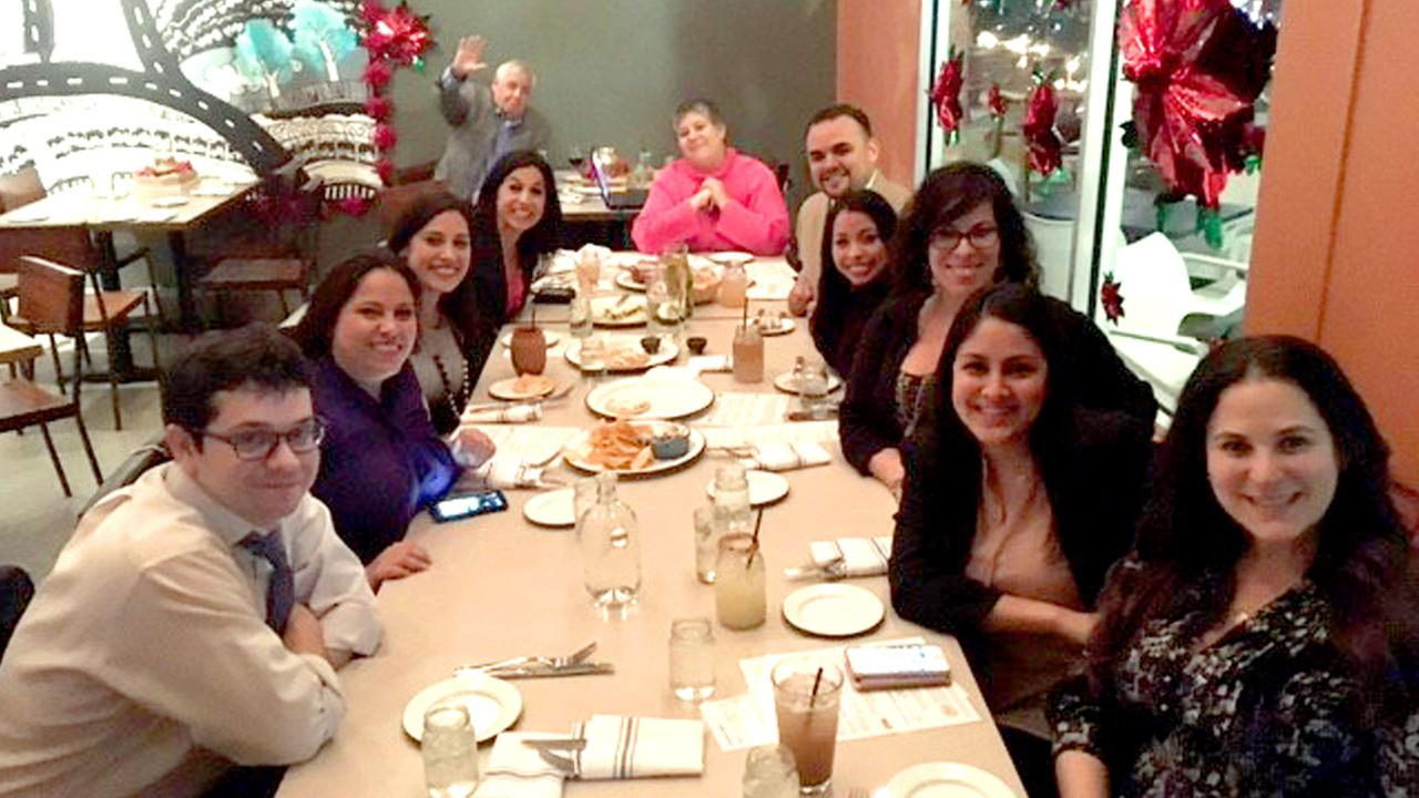 Members of Latino Giving Houston celebrated the holiday season.