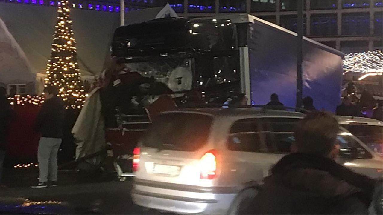 Instagram user @missadvnture captures photo of truck that plowed into Christmas market crowd in Berlin