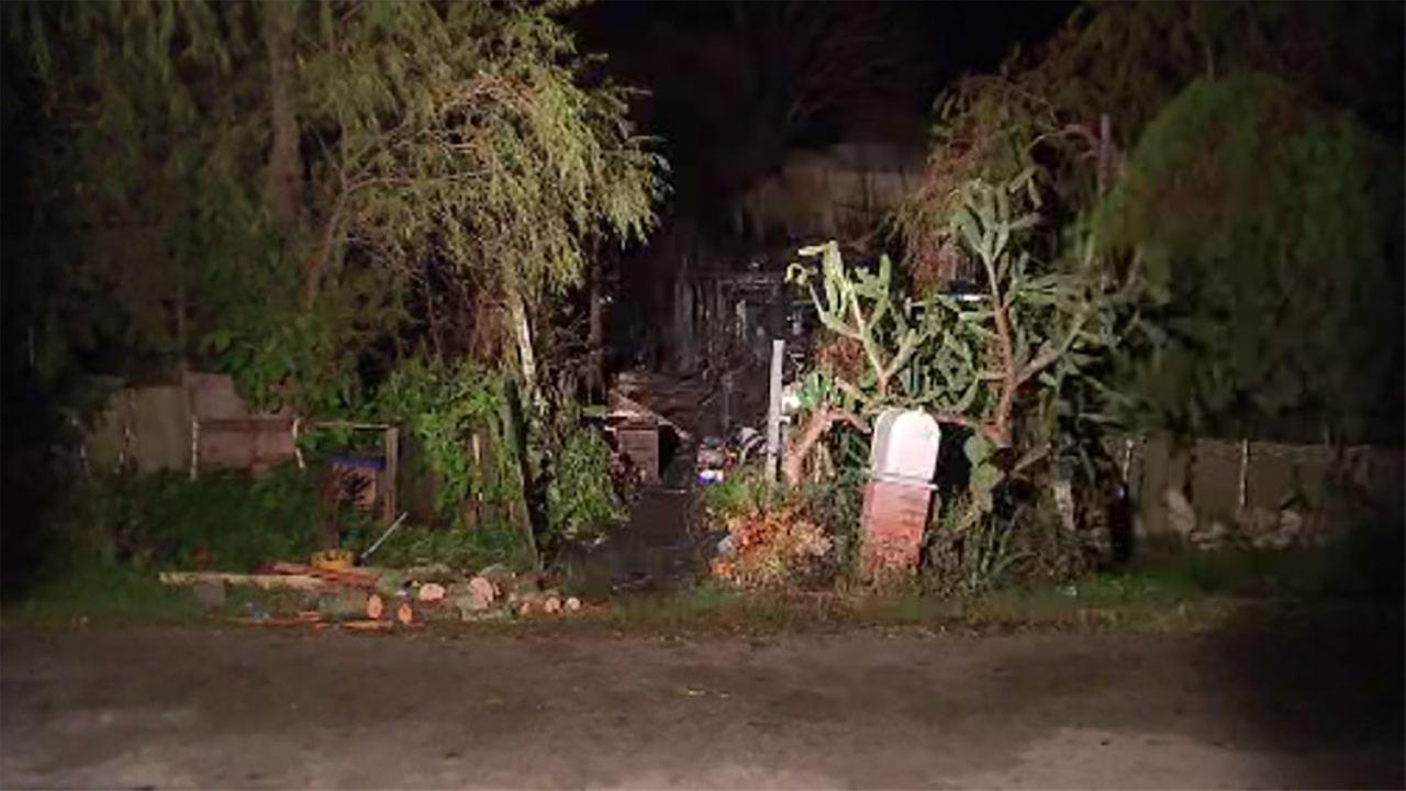 House fire in San Leon