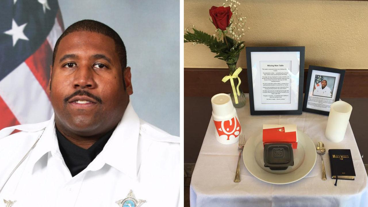 "Chick-fil-A honors fallen officer with ""missing man table"""