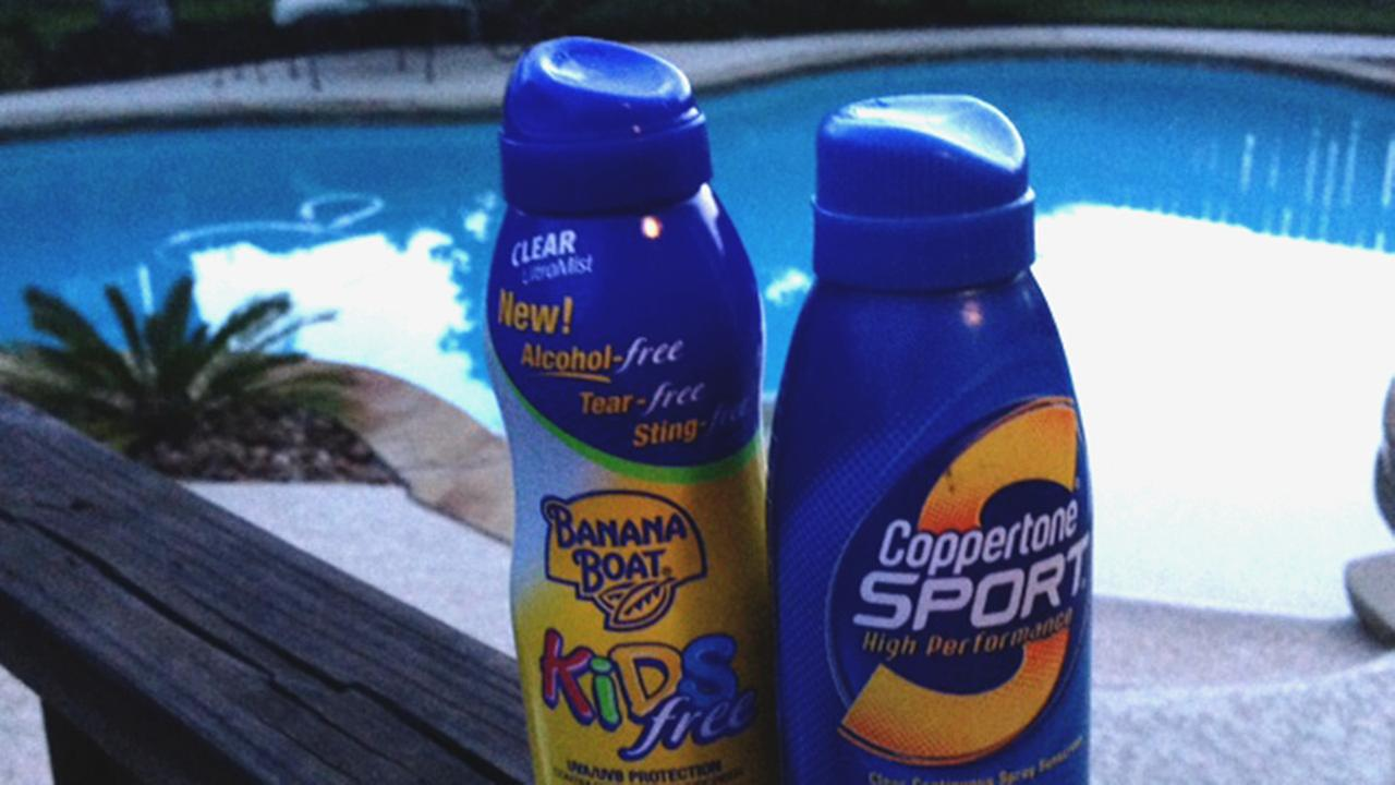 spray on sunscreen