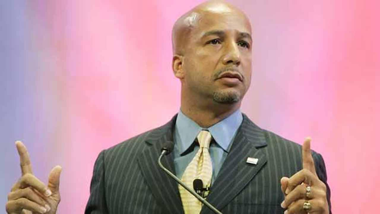 New Orleans Mayor Ray Nagin discusses his citys recovery nearly a year after Hurricane Katrina, Friday, Aug. 18, 2006.