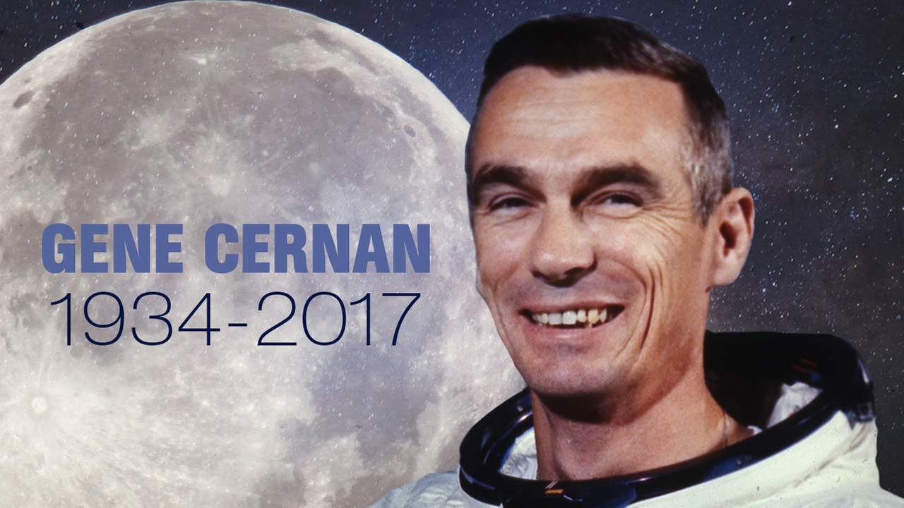 Funeral services held for Gene Cernan, last man to walk on the moon