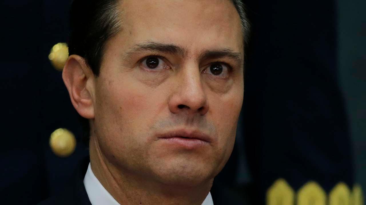 Mexicos President Enrique Pena Nieto