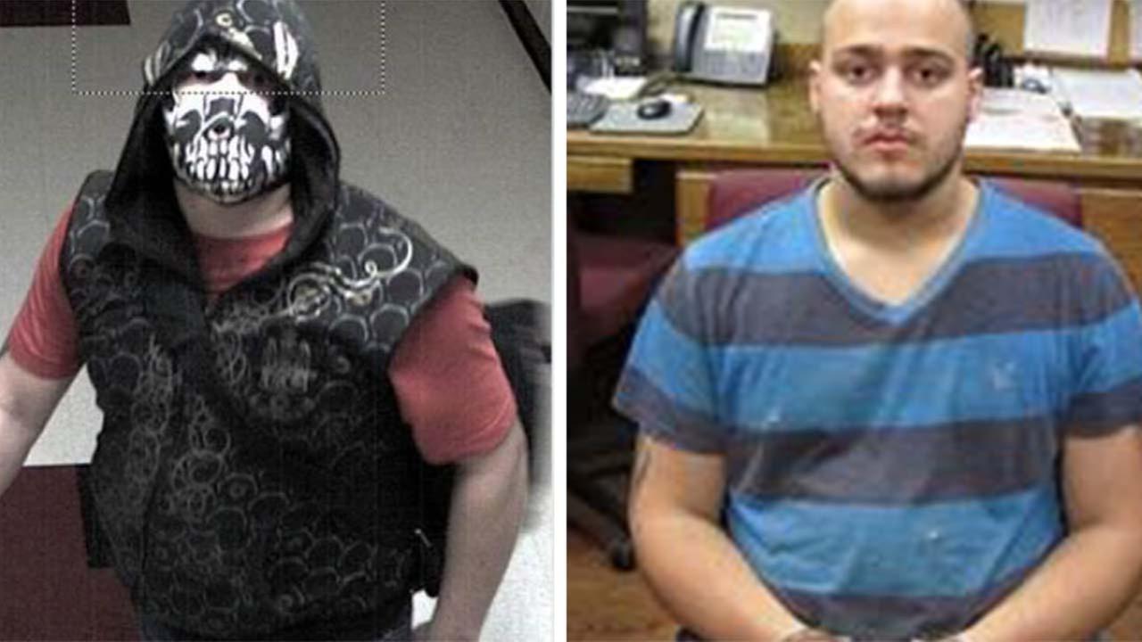 Masked suspect arrested following Magnolia school vandalism