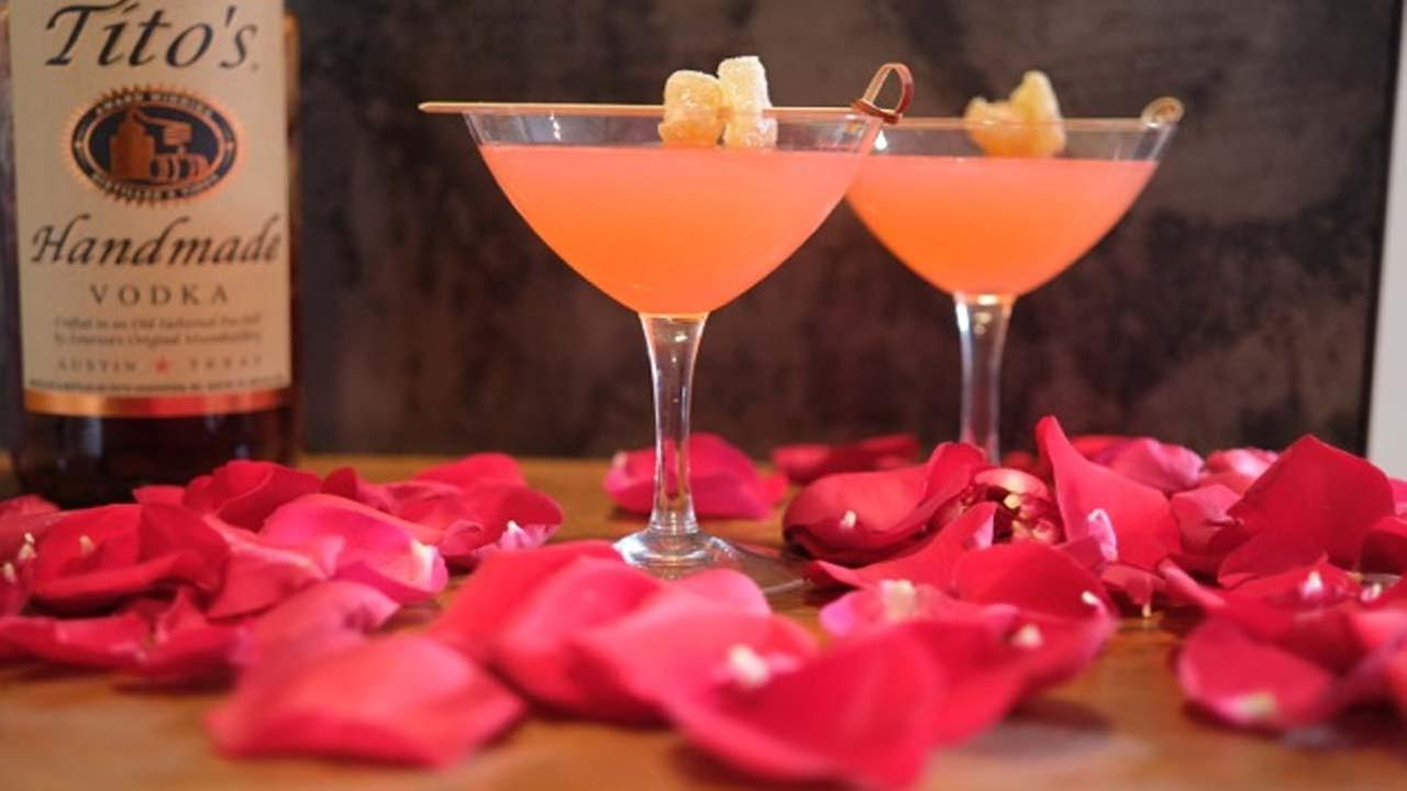 How to make the perfect drink for Valentine's Day