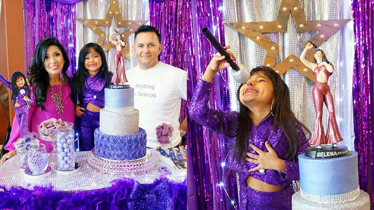 Girl celebrates 6th birthday with Selena-themed party