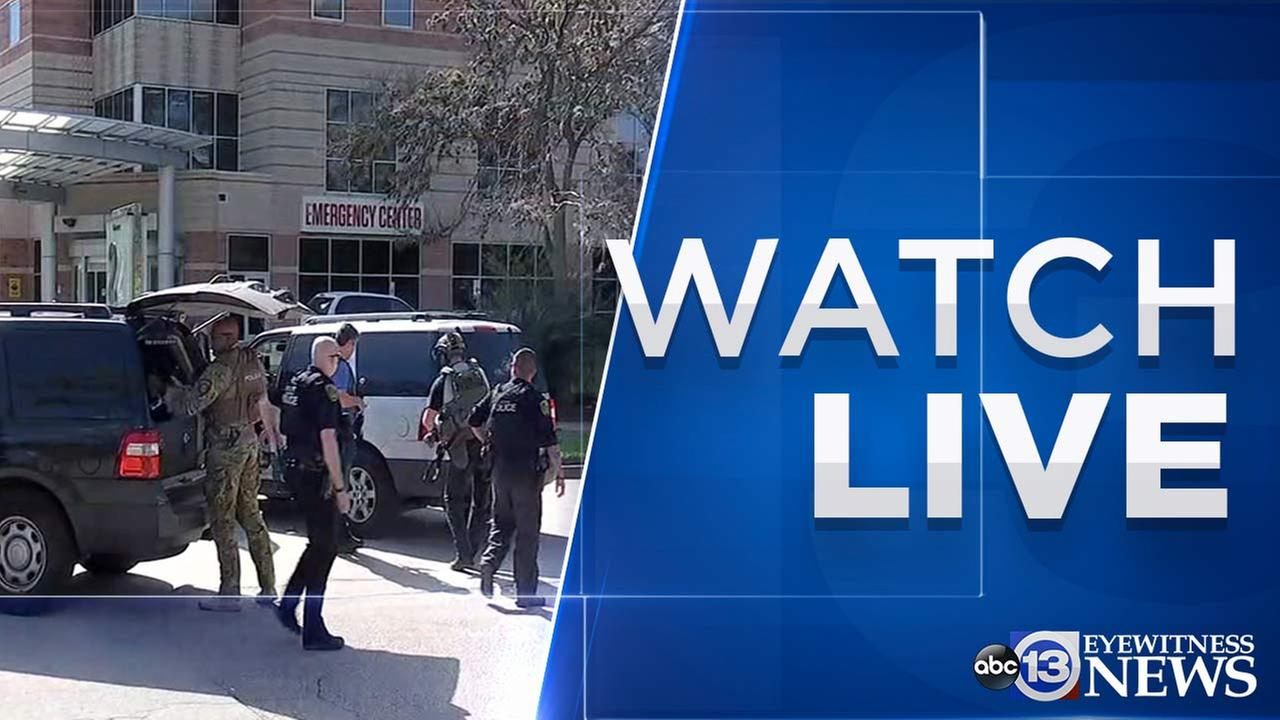 WATCH LIVE: Live ABC13 coverage of Ben Taub Hospital