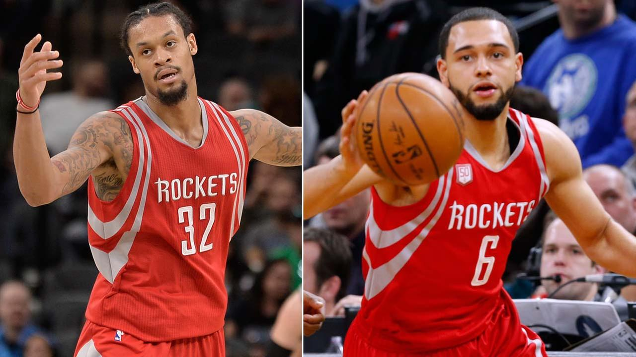 K.J. McDaniels and and Tyler Ennis