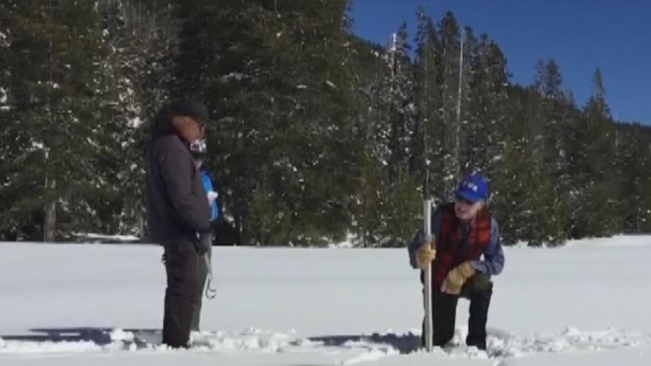 Snowpack in California