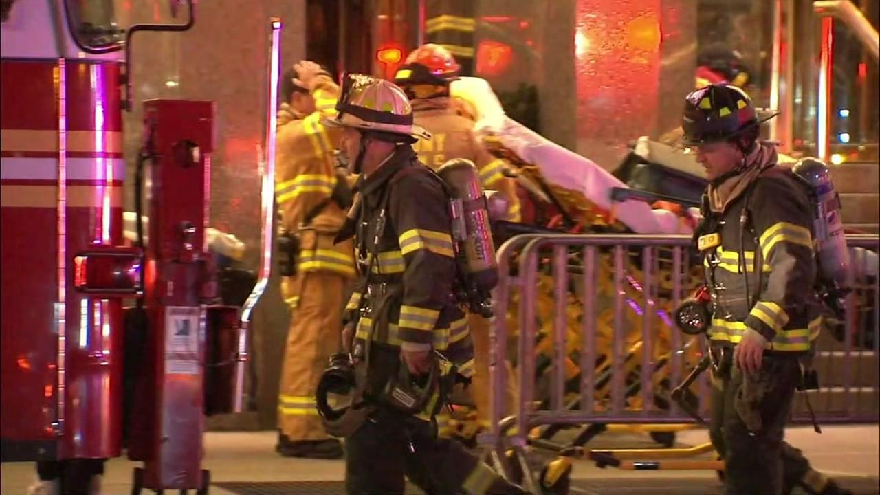 1 injured in fire at Trump Tower in New York