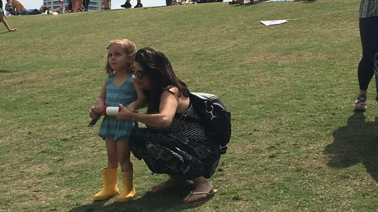 Kite fliers of all kinds came out to Hermann Park on Sunday, March 26, 2017.