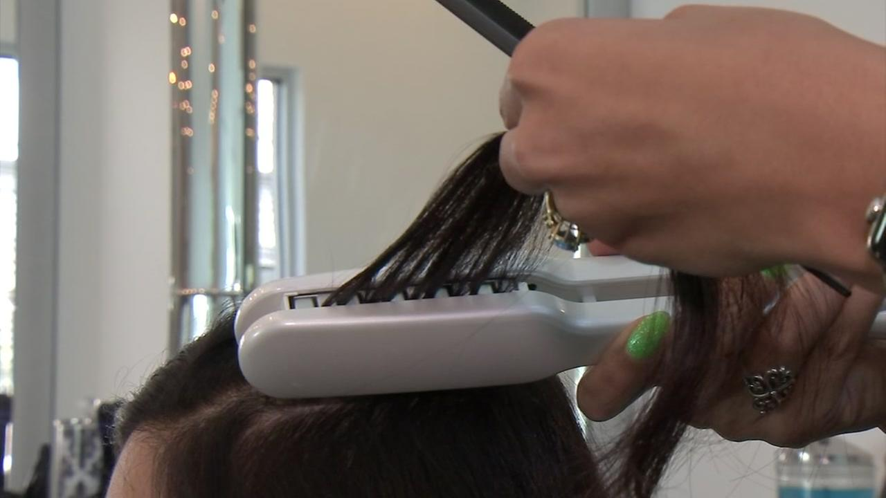 Consumer Reporter Patricia Lopez puts hair gadgets to the test.
