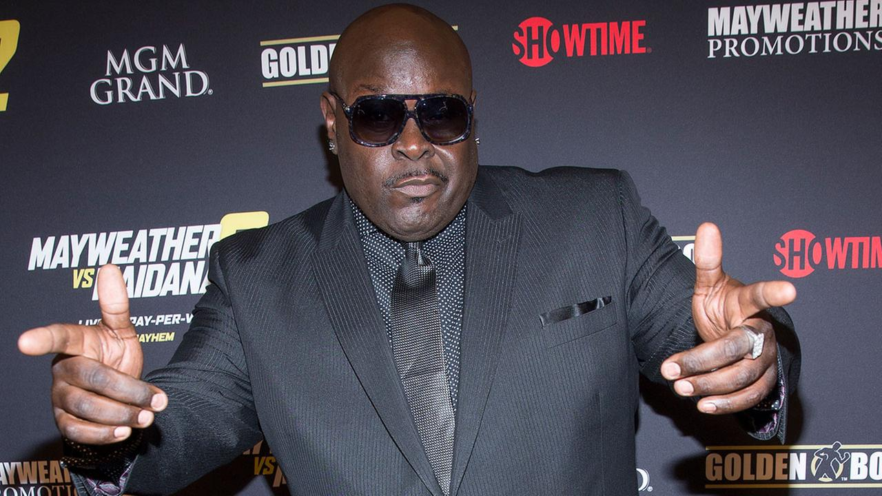 Christopher Boykin (Big Black) arrives at the VIP Pre-Fight Party for Mayhem: Mayweather Vs. Maidana 2, Saturday Sept. 13, 2014. (Photo by Andrew Estey/Invision/AP)