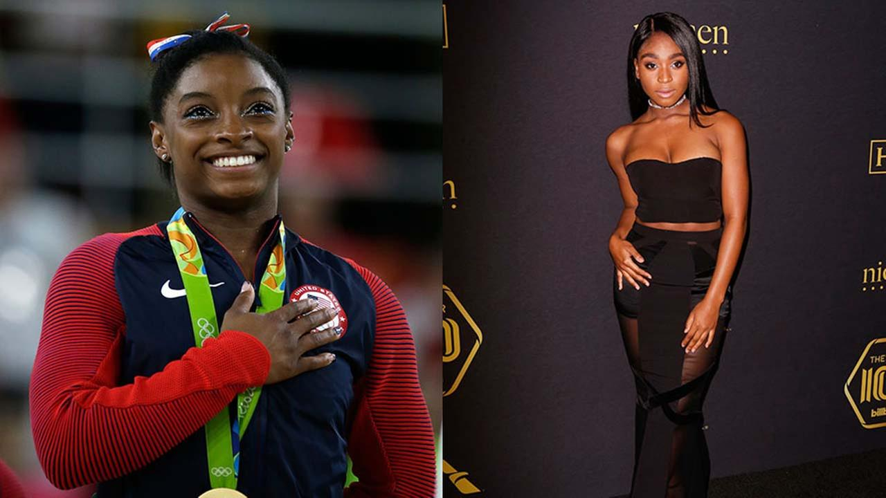 Houston celebrities Simone Biles and Normani Kordei compete in Dancing with the Stars semifinals