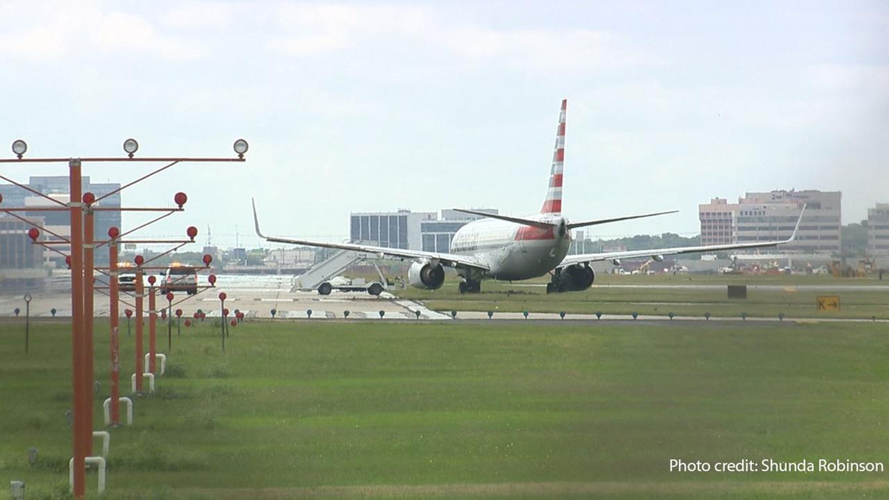 San Antonio flight stuck in the mud after veering off runway