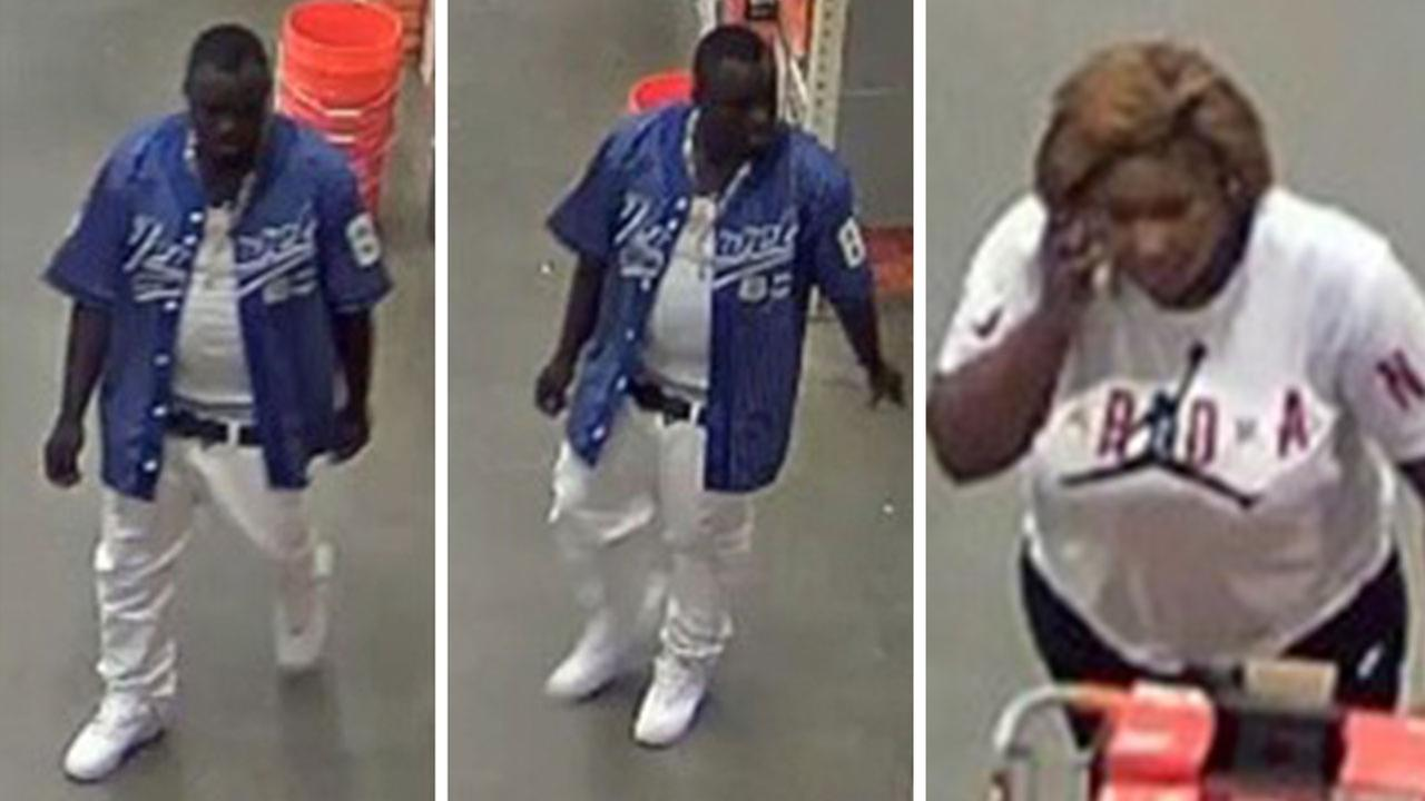 Home Depot robbery and assault suspects