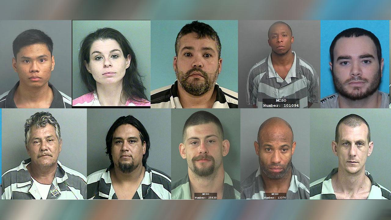 10 most wanted felons in SE Texas