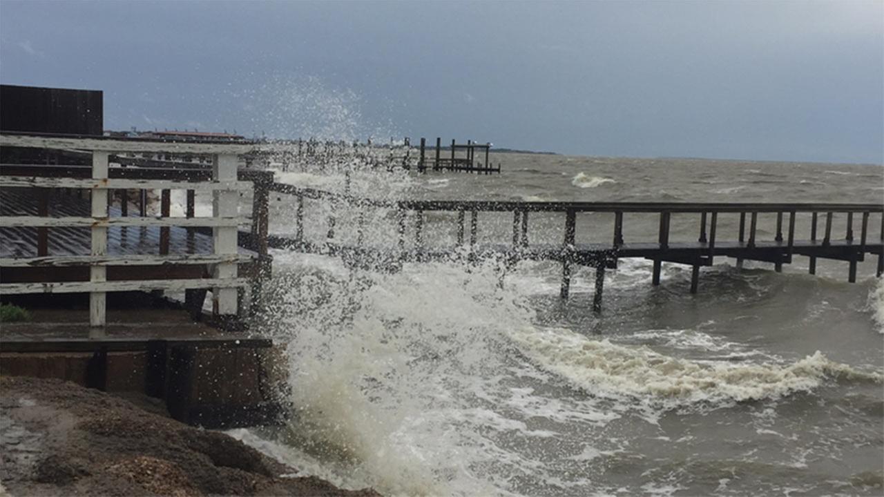 Watch live cameras as Hurricane Harvey hits Texas Gulf Coast
