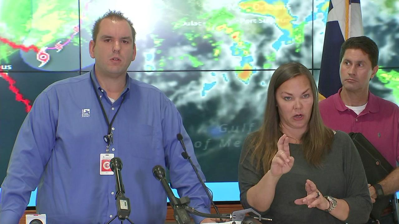 WATCH LIVE: Officials give Harris Co. flood emergency update