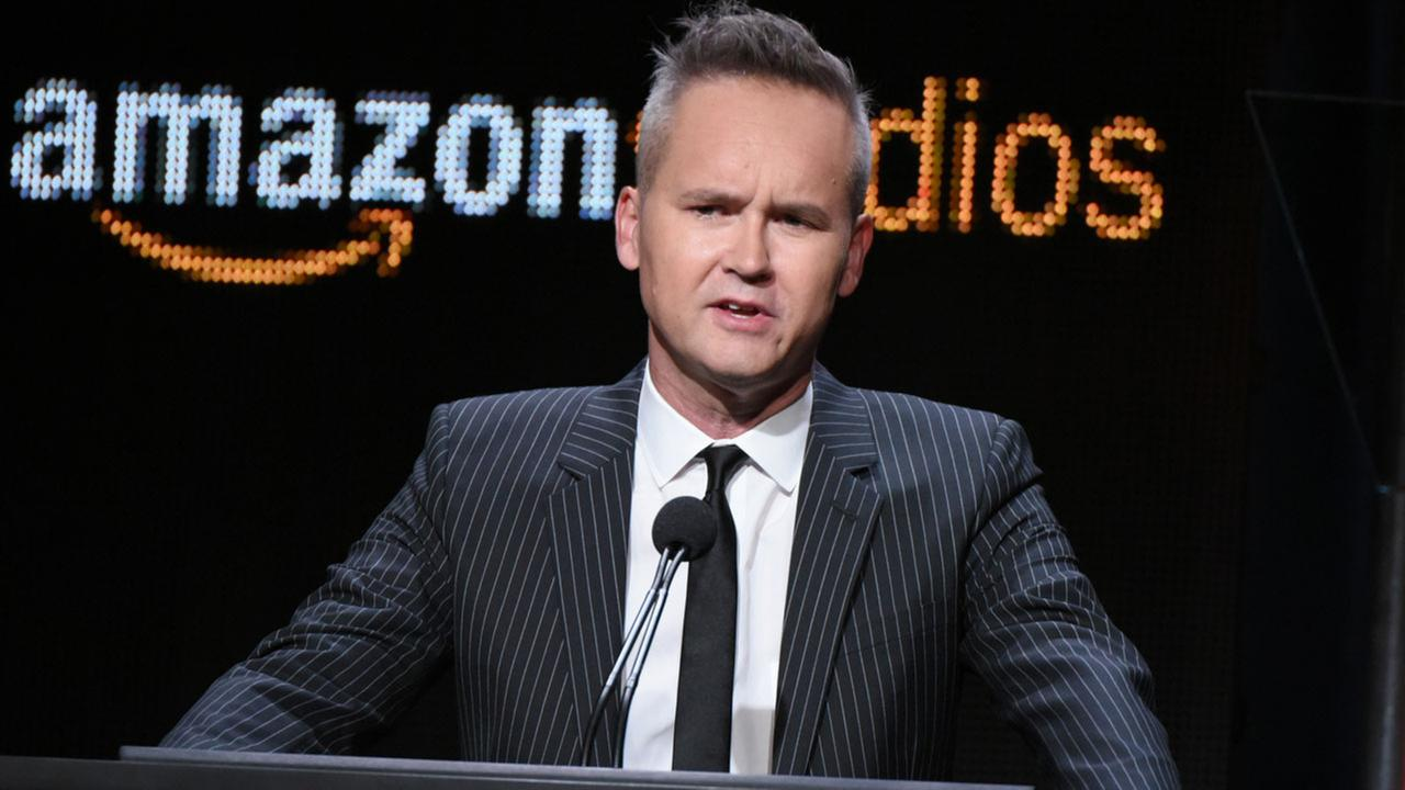 Roy Price, head of Amazon Studios, participates in the Hand of God panel at the Amazon Summer TCA Tour at the Beverly Hilton Hotel Monday, Aug. 3, 2015, in Beverly Hills, Calif.