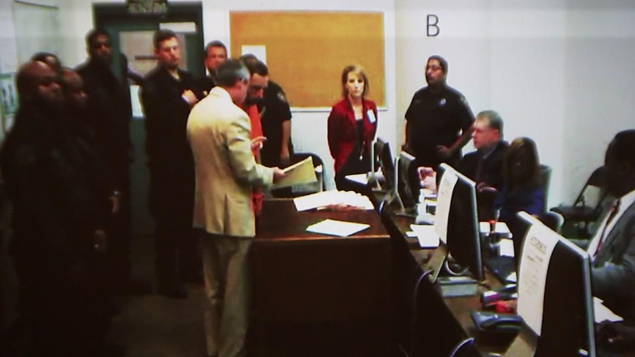 Suspect accused of shooting Precinct 4 deputy constable appears in court.