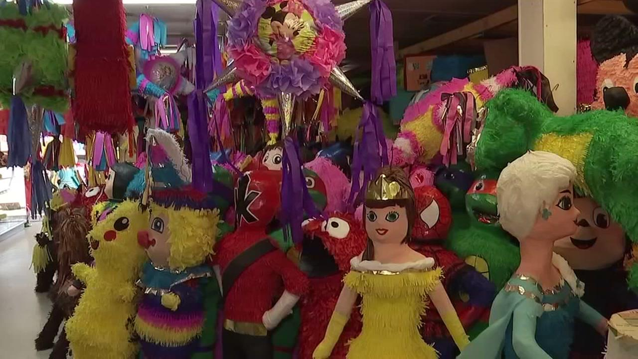 Get pinatas of any size, shape or color from Reyes Nopalitos in north Houston.