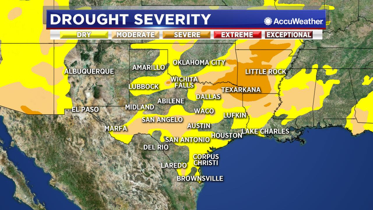 The Bayou City is surrounded by a drought inching closer with each sunny day.