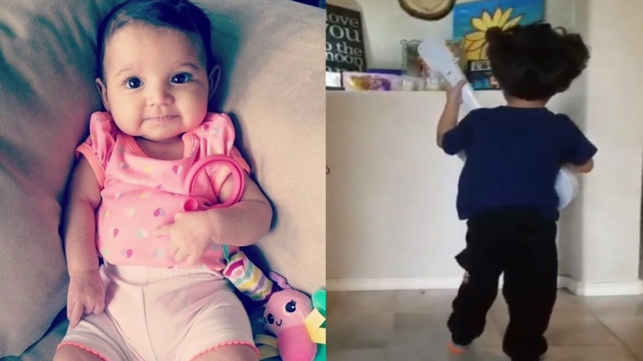 A 4-year-old San Antonio boy is caught singing to his baby sister in heaven on what would have been her first birthday.