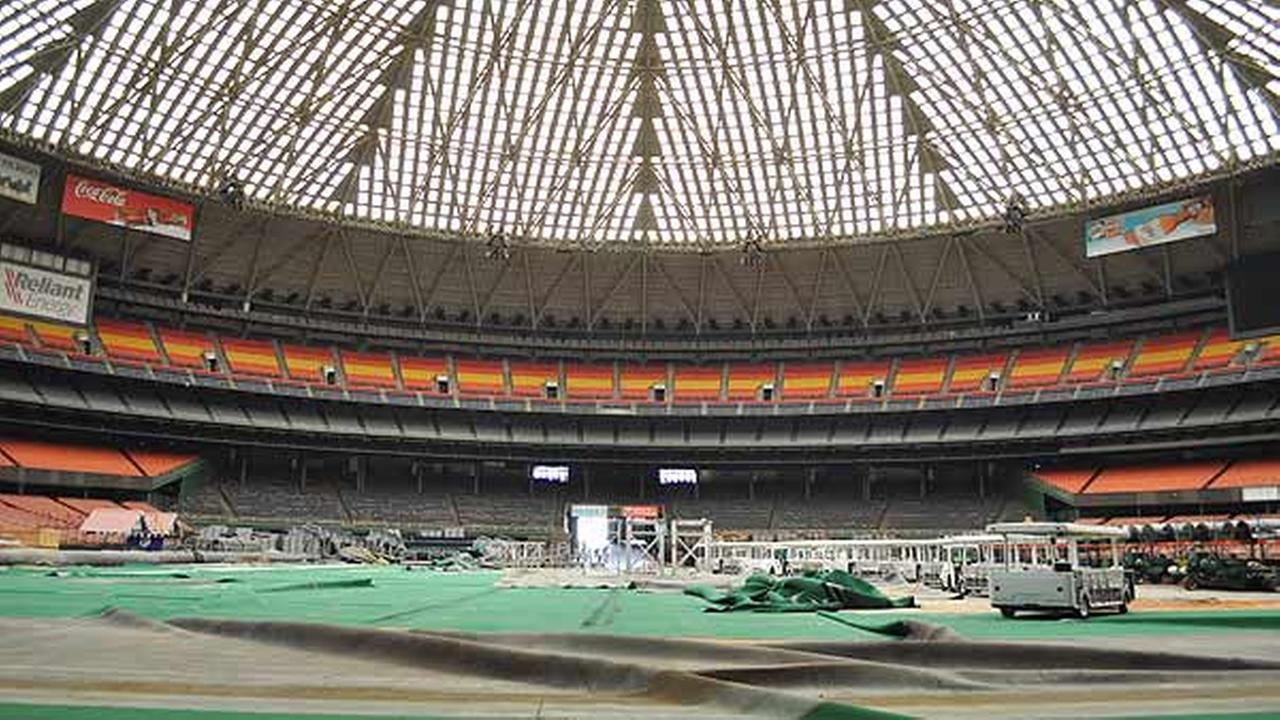 Whats left inside the Astrodome