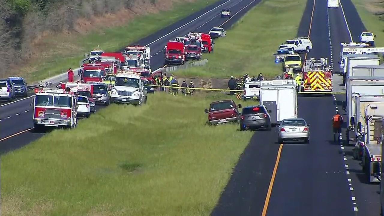 Bus crashes in Alabama after Disney trip; driver killed
