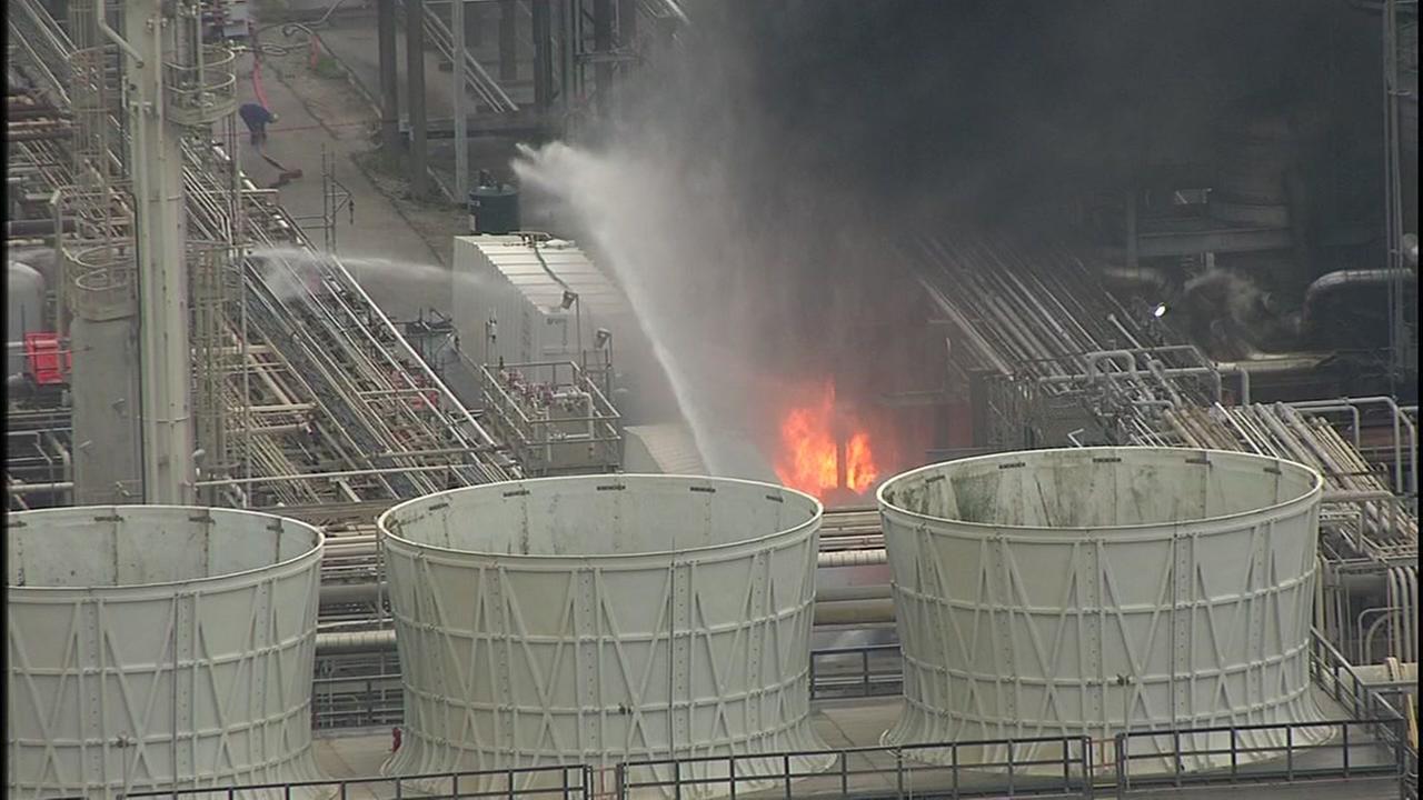 Pasadena refinery fire