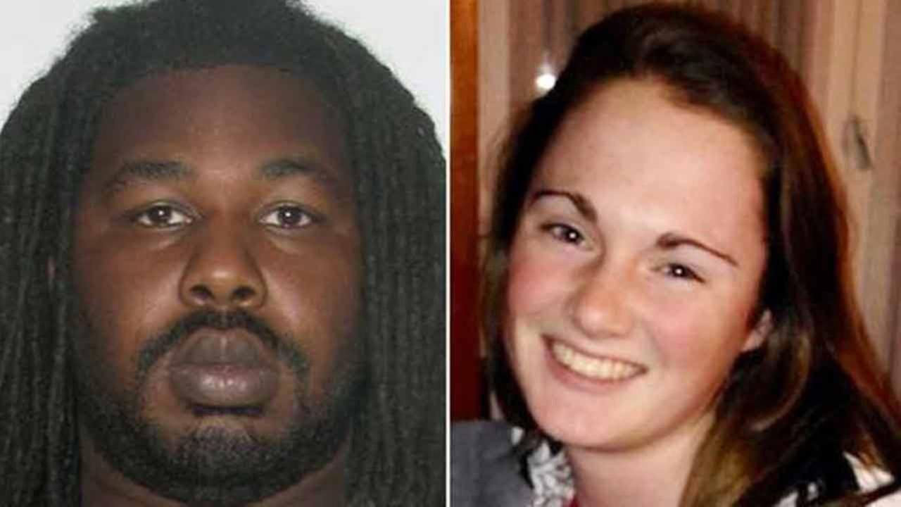 This undated photo provided by the Charlottesville, Va. Police Department shows Jesse Leroy Matthew Jr., left, who is now charged with abduction in Hanna Grahams disappearance.