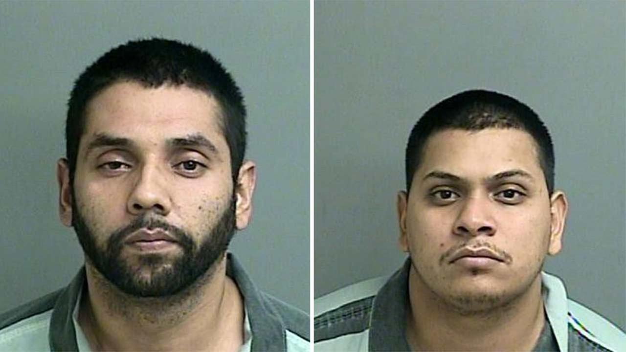 Estreberto T. Soria (left) and Daniel Soria (right) are both being held at the Montgomery Co. Jail on a bond of $2 million each.